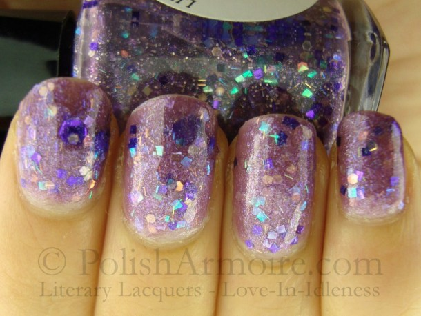 Literary Lacquers - Love-In-Idleness