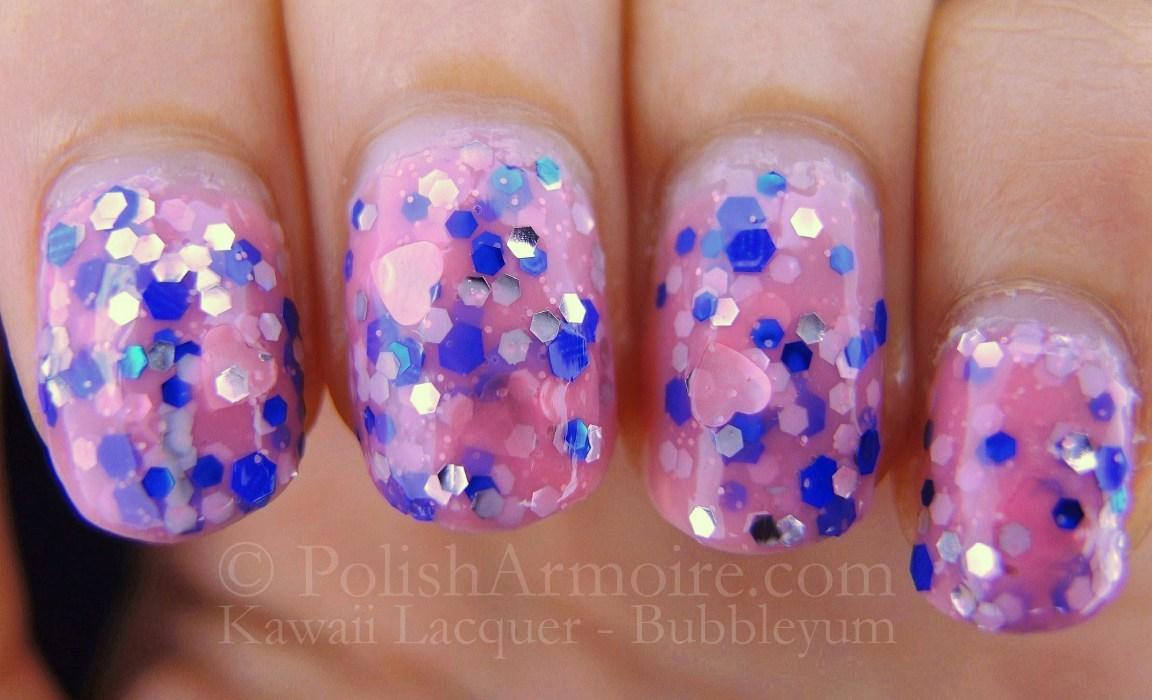 Kawaii Nail Lacquer – Bubbleyum   POLISH ARMOIRE