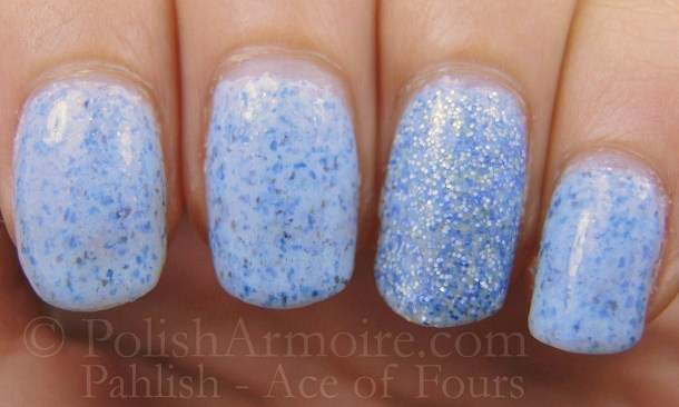 Pahlish - Ace of Fours layered with Different Dimension - Emily