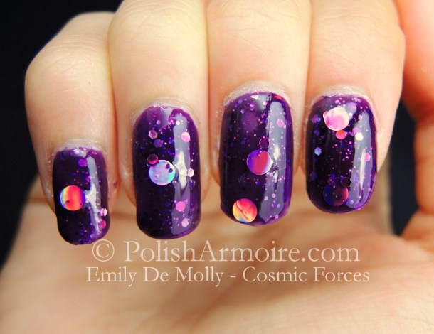 Emily De Molly Cosmic Forces Holographic