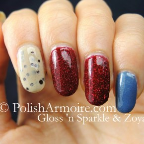 Gloss 'n Sparkle Cookie Dough with Zoya Chyna & Skylar