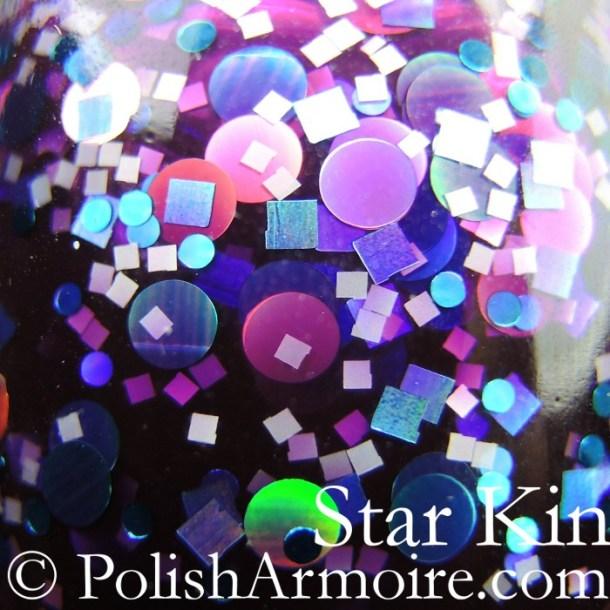 Star Kin - Violet Disregard - macro