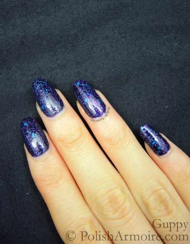 Nubar Purple Rain Glitter G152