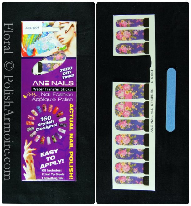 Ane Nails Water Transfer Sticker Water Decal C 5-004