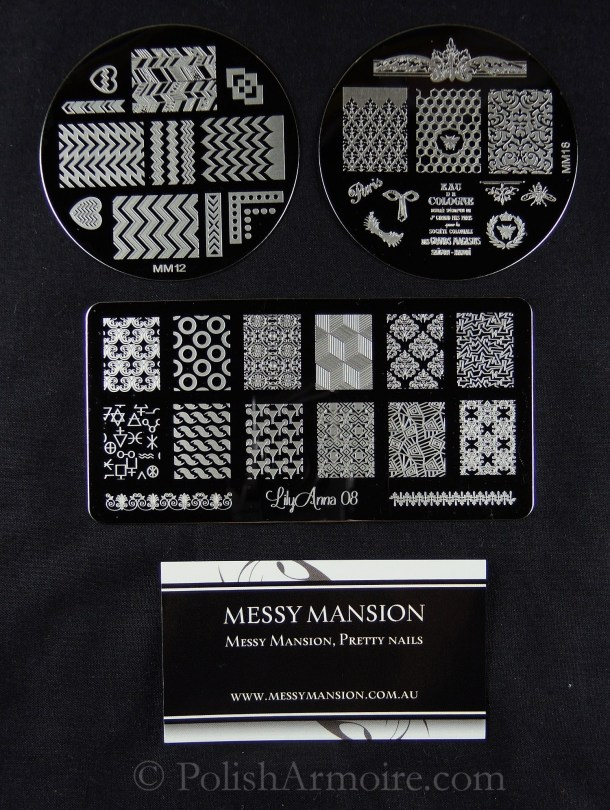 MM12 MM18 Lily Anna 08 Nail Stamping Plates