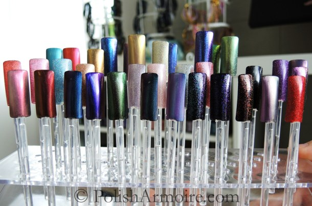 Picture Polish Gallery Ozotic Swatches