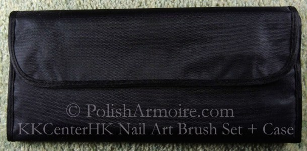 Nail Art Brush Case Closed