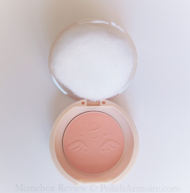 It's Skin Babyface Petit Blusher 04 Sweet Peach Shade