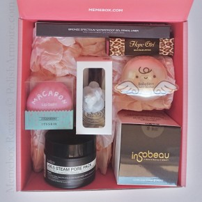 Memebox Unboxing and Review – Beauty Splurge with Lisa Pullano