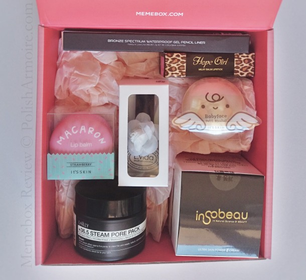 Memebox Lisa Pullano Unboxed Contents