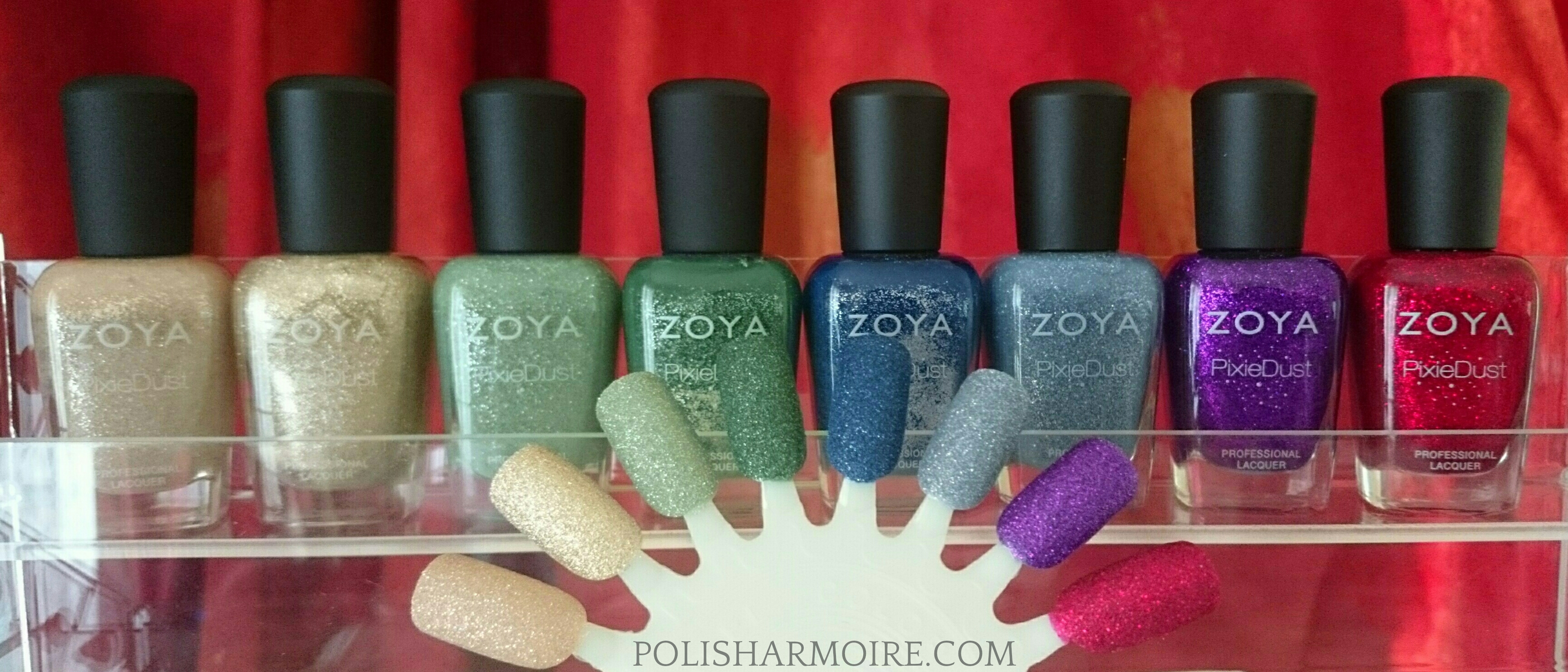Zoya (Discontinued) PixieDust Swatches | POLISH ARMOIRE