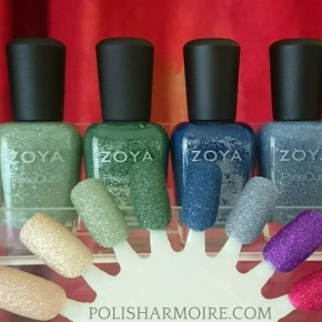 Zoya (Discontinued) PixieDust Swatches